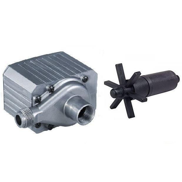 New pondmaster pm 24 mag drive pond pump 2400 gph spare for Pond filter pump combo