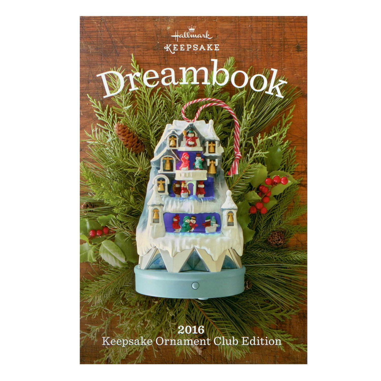 2016 Hallmark Club Edition Dream Book 97 Color Pages