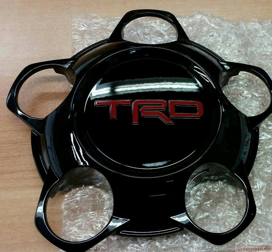 OEM TOYOTA TUNDRA TRD PRO CENTER CAP BLACK PT280-34150 FITS 2015-2017