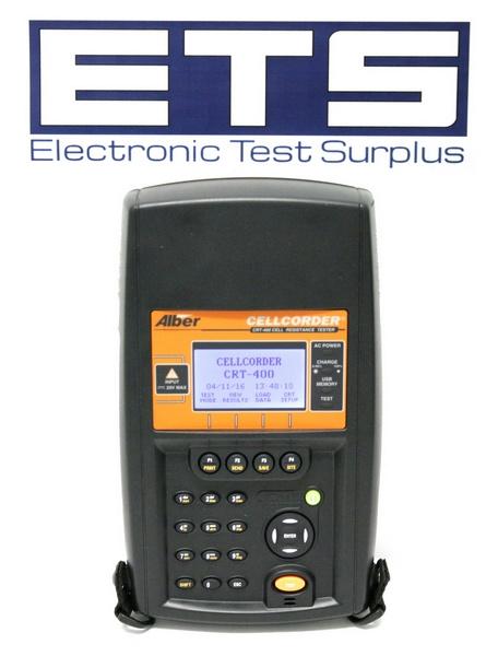 Alber Battery Testing : Alber cellcorder crt cell resistance tester
