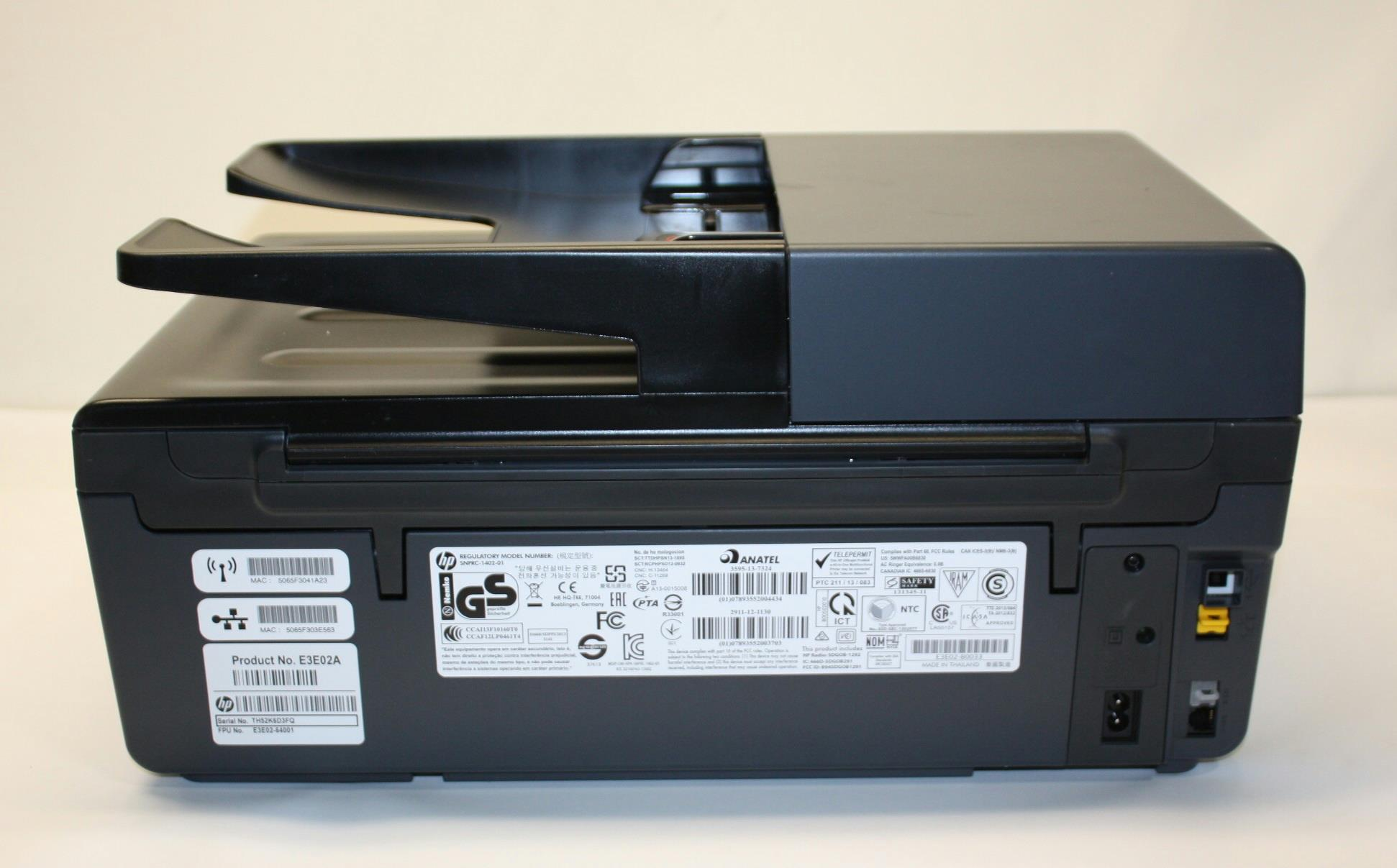 HP Officejet Pro 6830 e-All-in-One Printer E3E02A *For ...