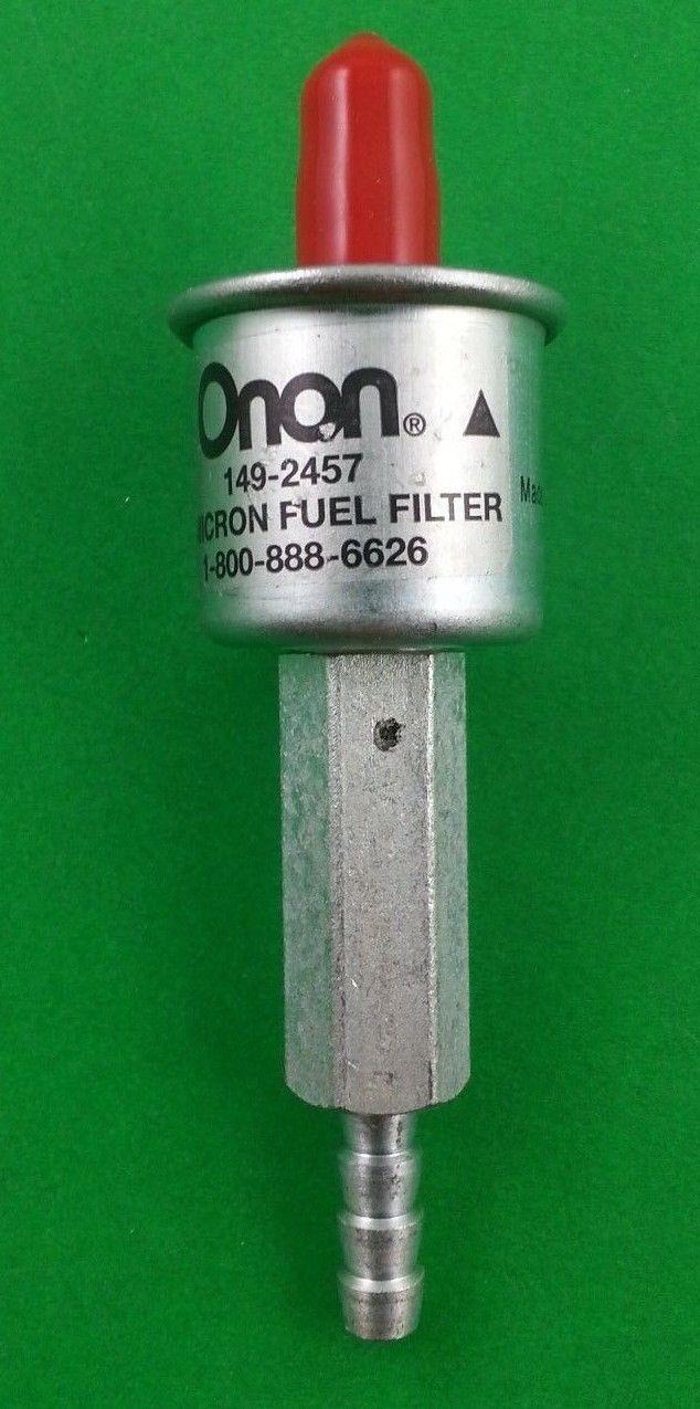 genuine onan 149 2457 cummins generator fuel filter ebay. Black Bedroom Furniture Sets. Home Design Ideas