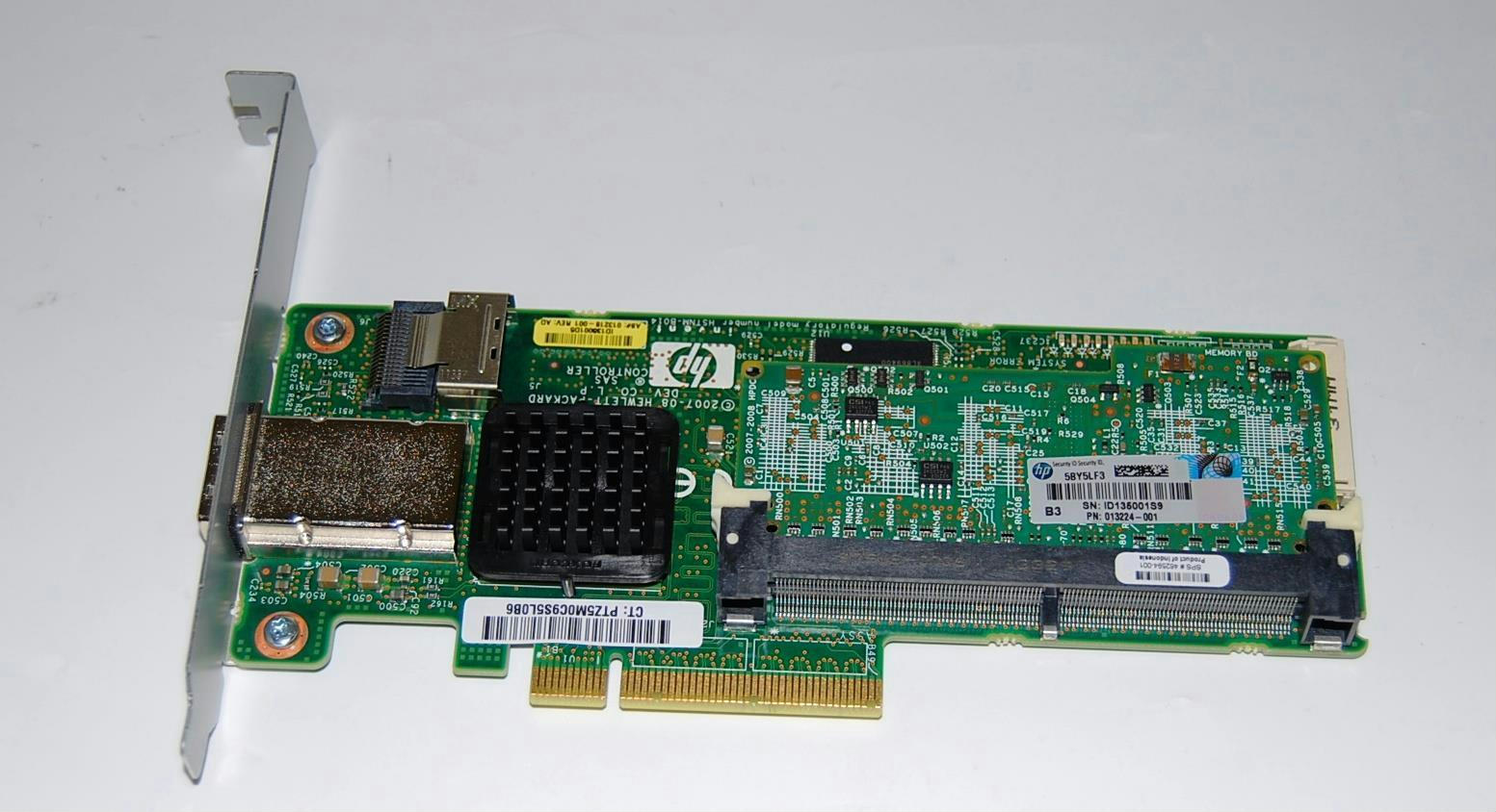 HP Smart Array P212 SAS/SATA RAID PCIe 256MB Cache Battery 462834-B21  462594-001