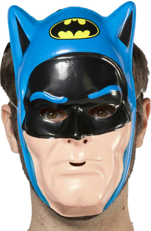 DC Comics Blue Batman PVC Half Vintage 80u0027s Ben Cooper Plastic Face Mask & DC Comics Blue Batman PVC Half Vintage 80u0027s Ben Cooper Plastic Face ...