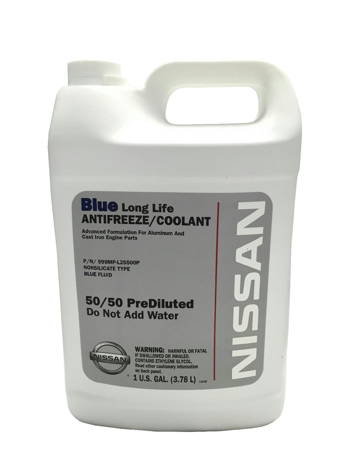 genuine nissan fluid 999mp l25500p blue long life antifreeze coolant 2006 Nissan Sentra Parts details about genuine nissan fluid 999mp l25500p blue long life antifreeze coolant 1 gallon