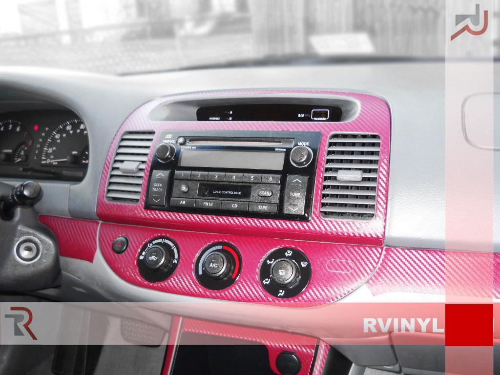 rdash dash kit for toyota camry 2002 2006 auto interior decal trim ebay. Black Bedroom Furniture Sets. Home Design Ideas