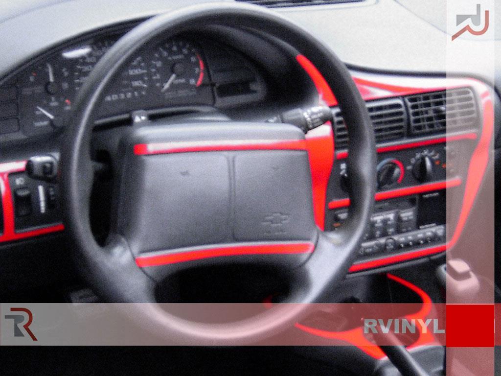 rdash dash kit for chevrolet cavalier 1995 1999 auto interior decal trim ebay. Black Bedroom Furniture Sets. Home Design Ideas