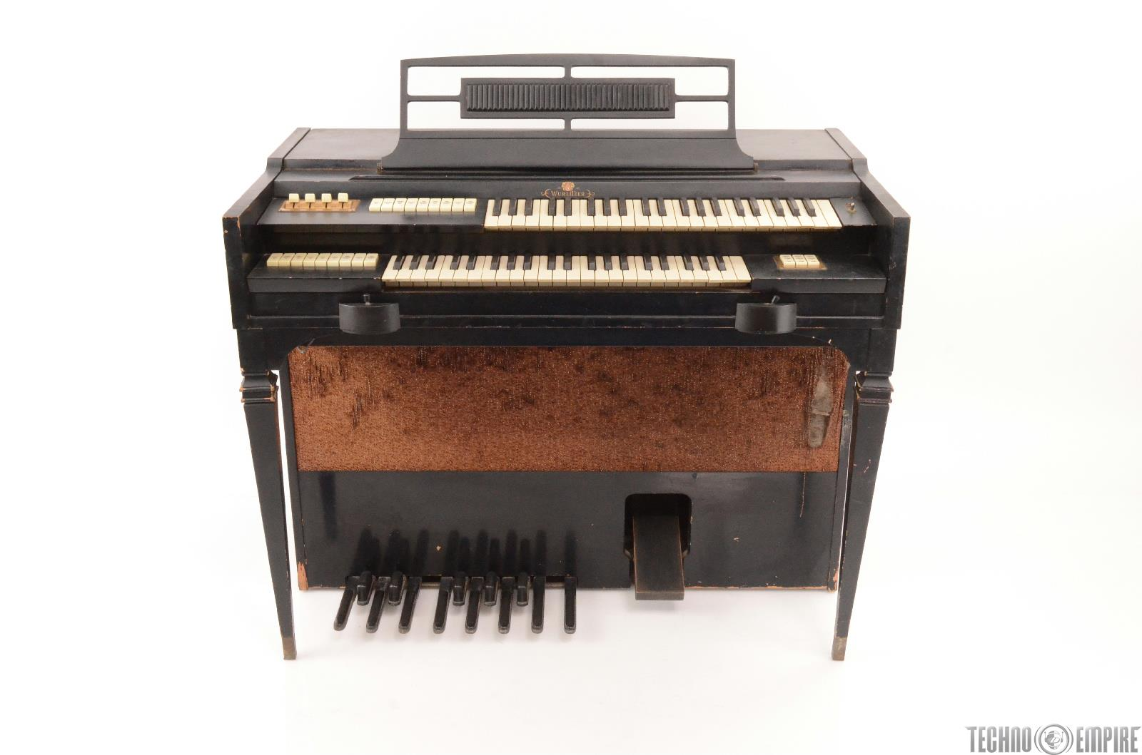 Vintage Wurlitzer 4420 Electric Spinet Organ W Bench 25094 Ebay