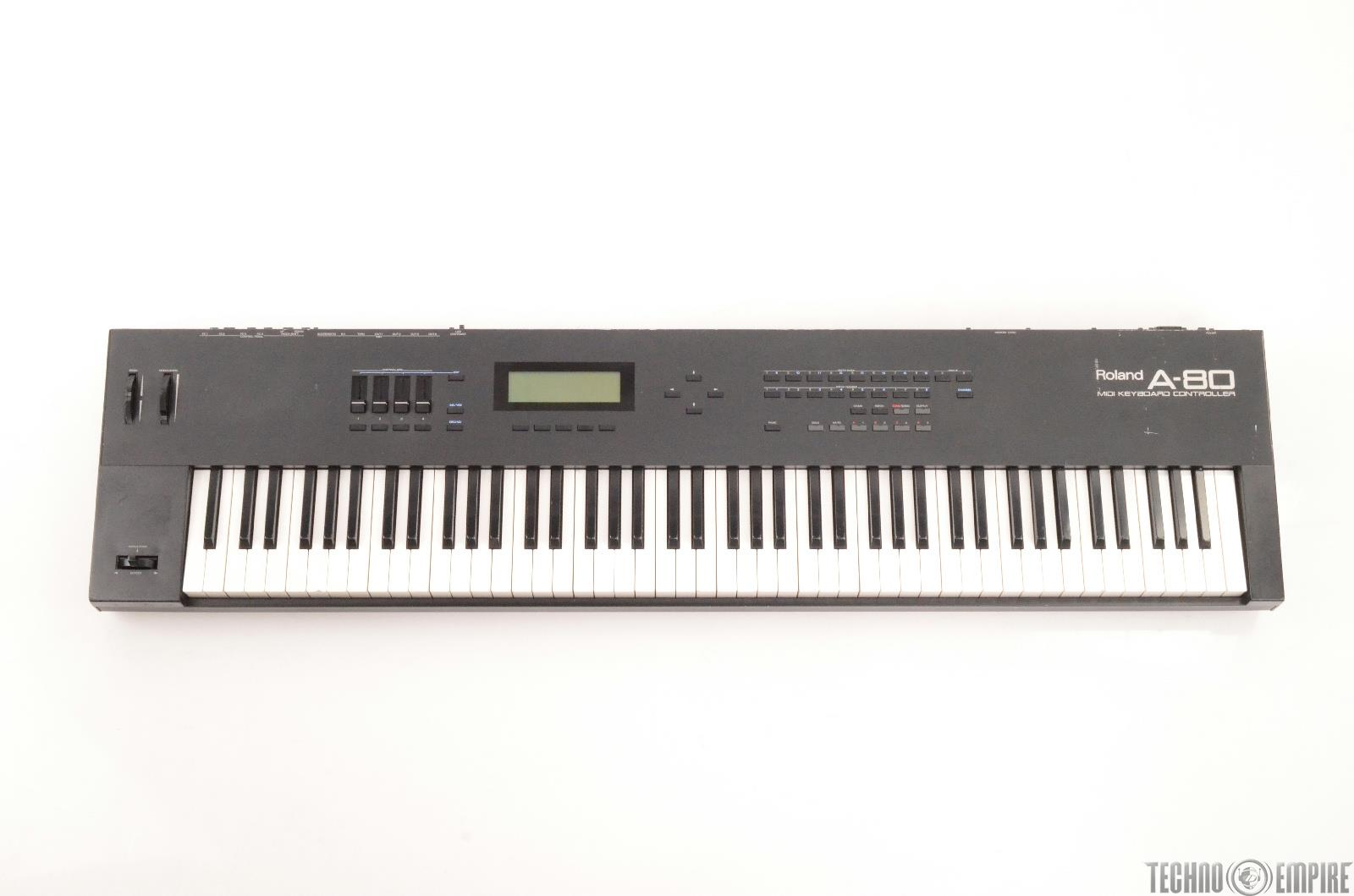 Roland A-80 88-Key Weighted MIDI Keyboard Controller A80 #25402