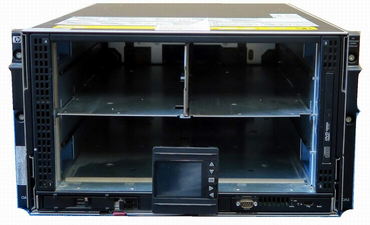 Hp Bladesystem C3000 Enclosure 508668 B21 6x1200w