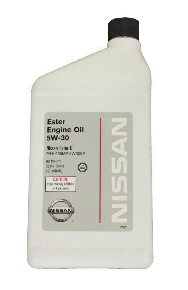 Genuine nissan 5w 30 ester motor oil 1 quart auctions for Nissan motor credit payoff phone number