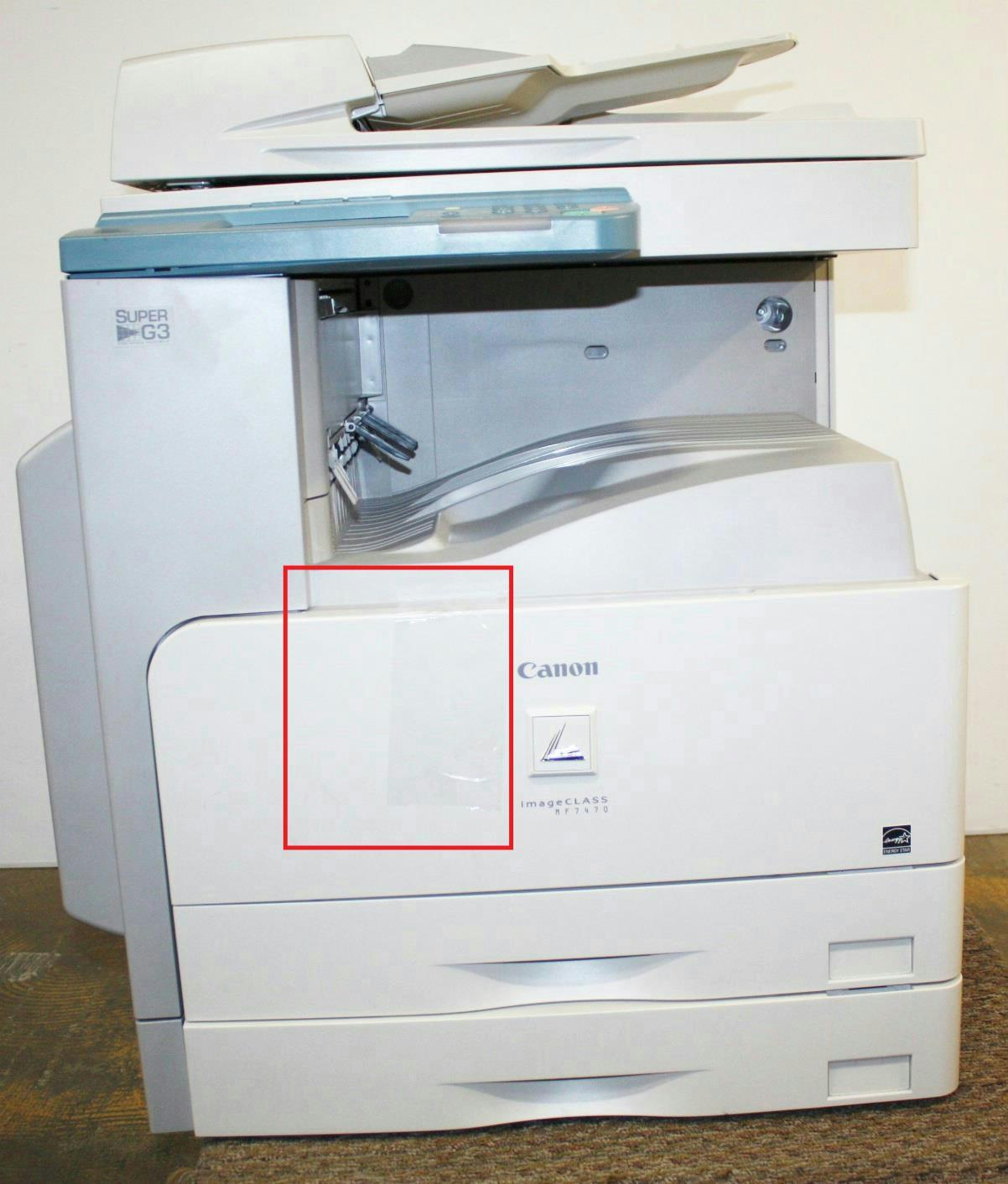 canon printer templates - canon imageclass mf7470 25ppm monochrome multi function