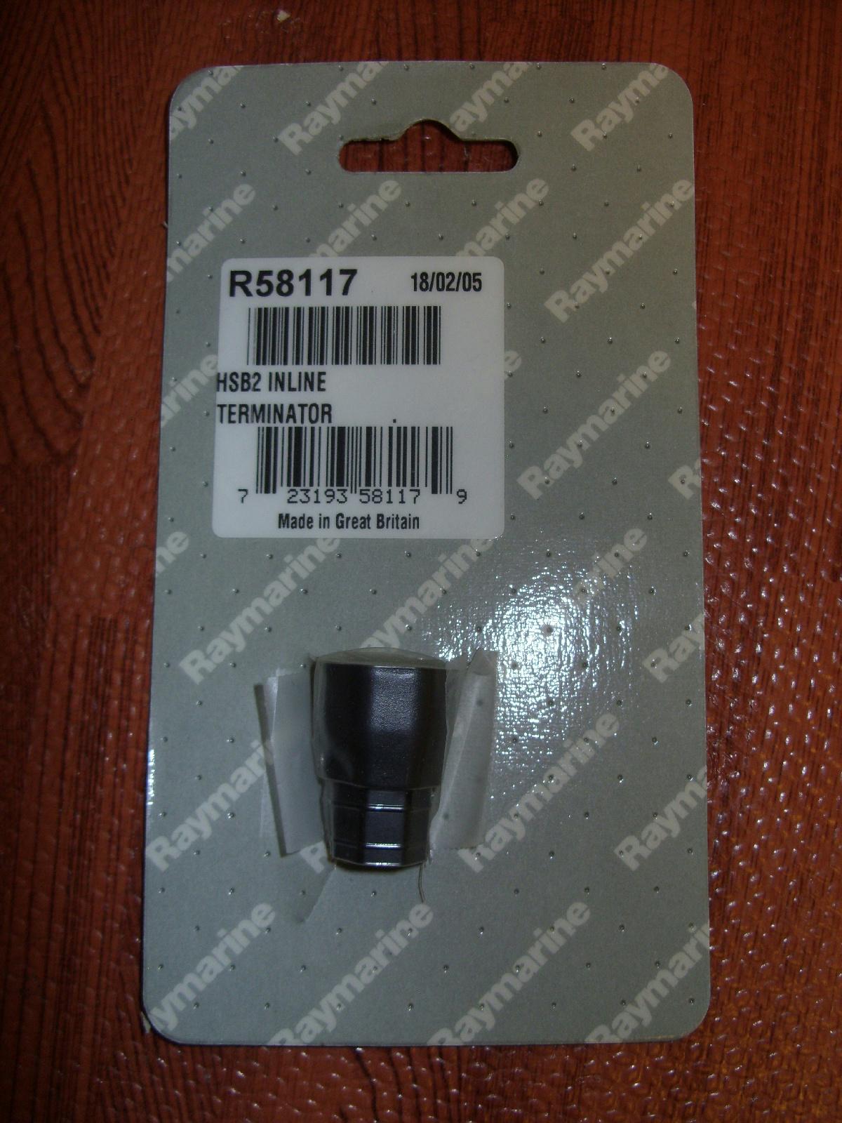 For Pathfinder Plus Terminating plug R58117 Raymarine HSB2 Inline Terminator
