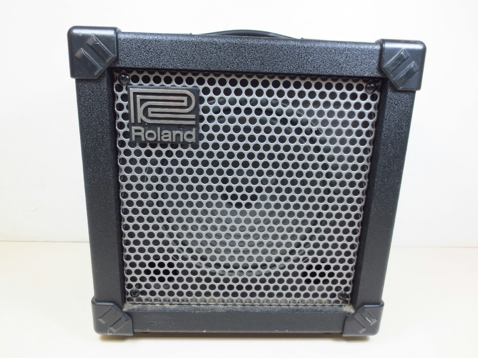 roland cube 15x 15 watt guitar amp tested ebay. Black Bedroom Furniture Sets. Home Design Ideas