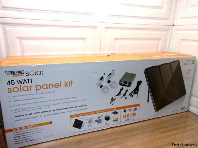 Thunderbolt Magnum Solar 45 Watt Solar Panel Kit For Rv S