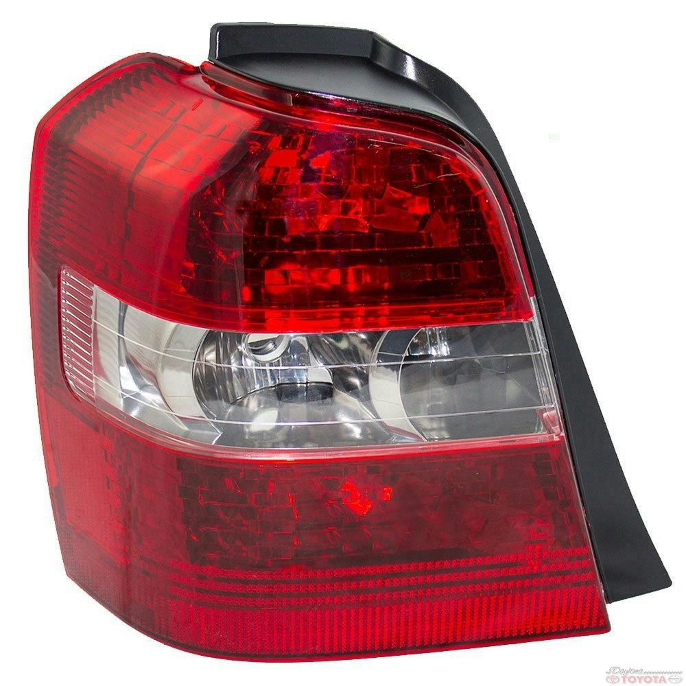 Tail Light Lens Assembly : Oem toyota highlander driver tail lamp assembly