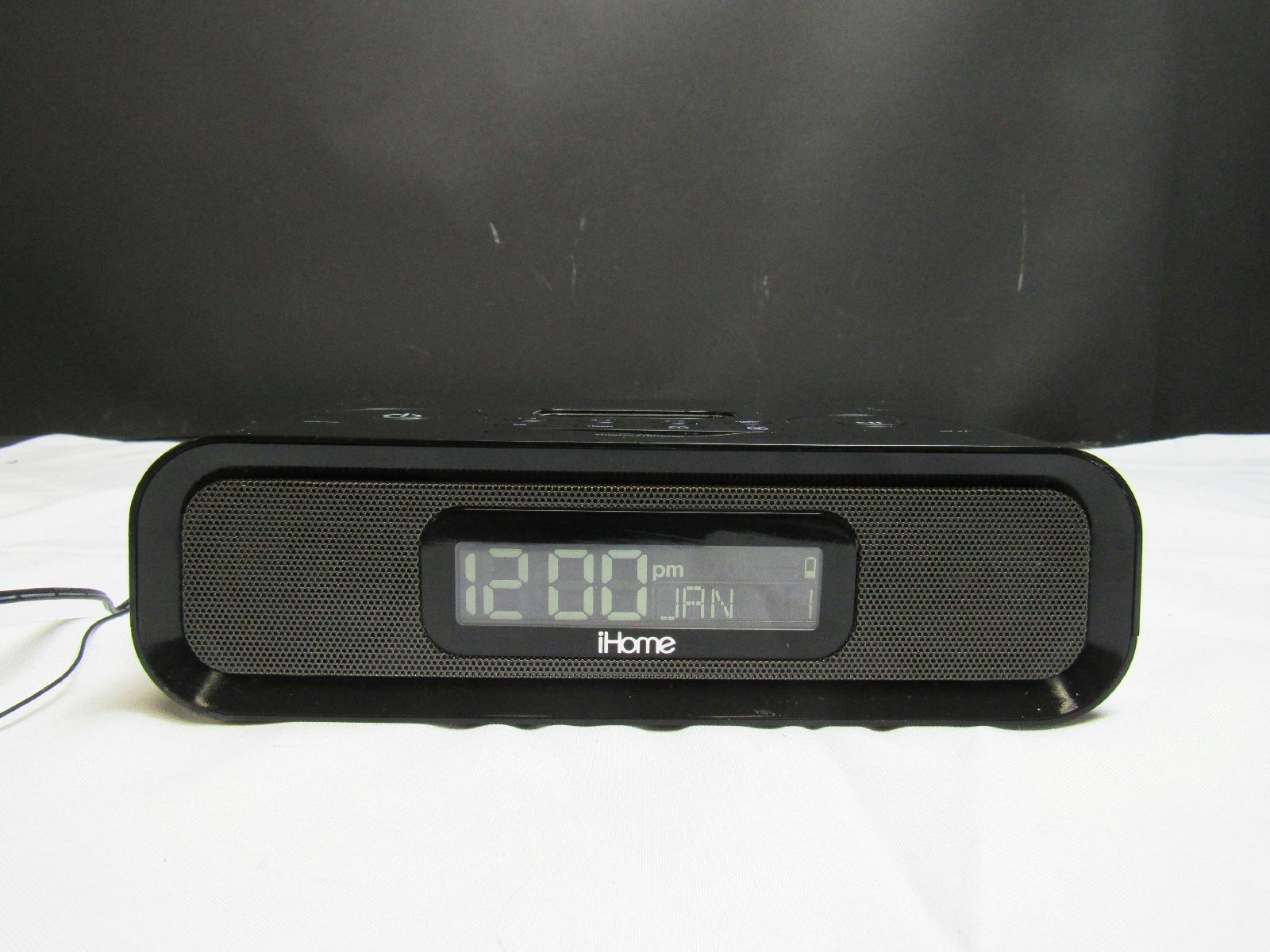 ihome model ip97 dual alarm clock radio ipod docking station ebay. Black Bedroom Furniture Sets. Home Design Ideas