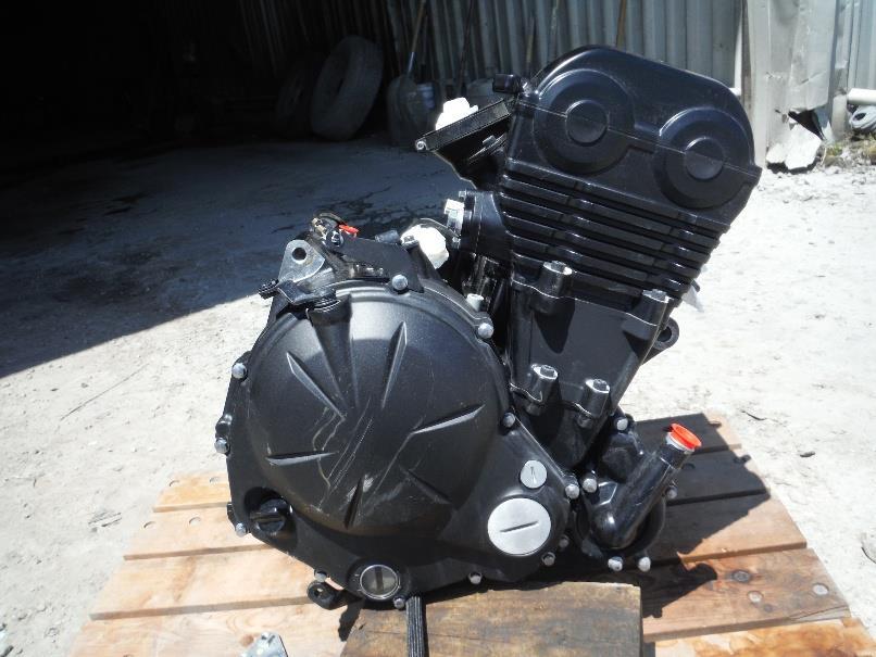 14 kawasaki ninja 650 engine motor ran well 4 232 miles ebay. Black Bedroom Furniture Sets. Home Design Ideas