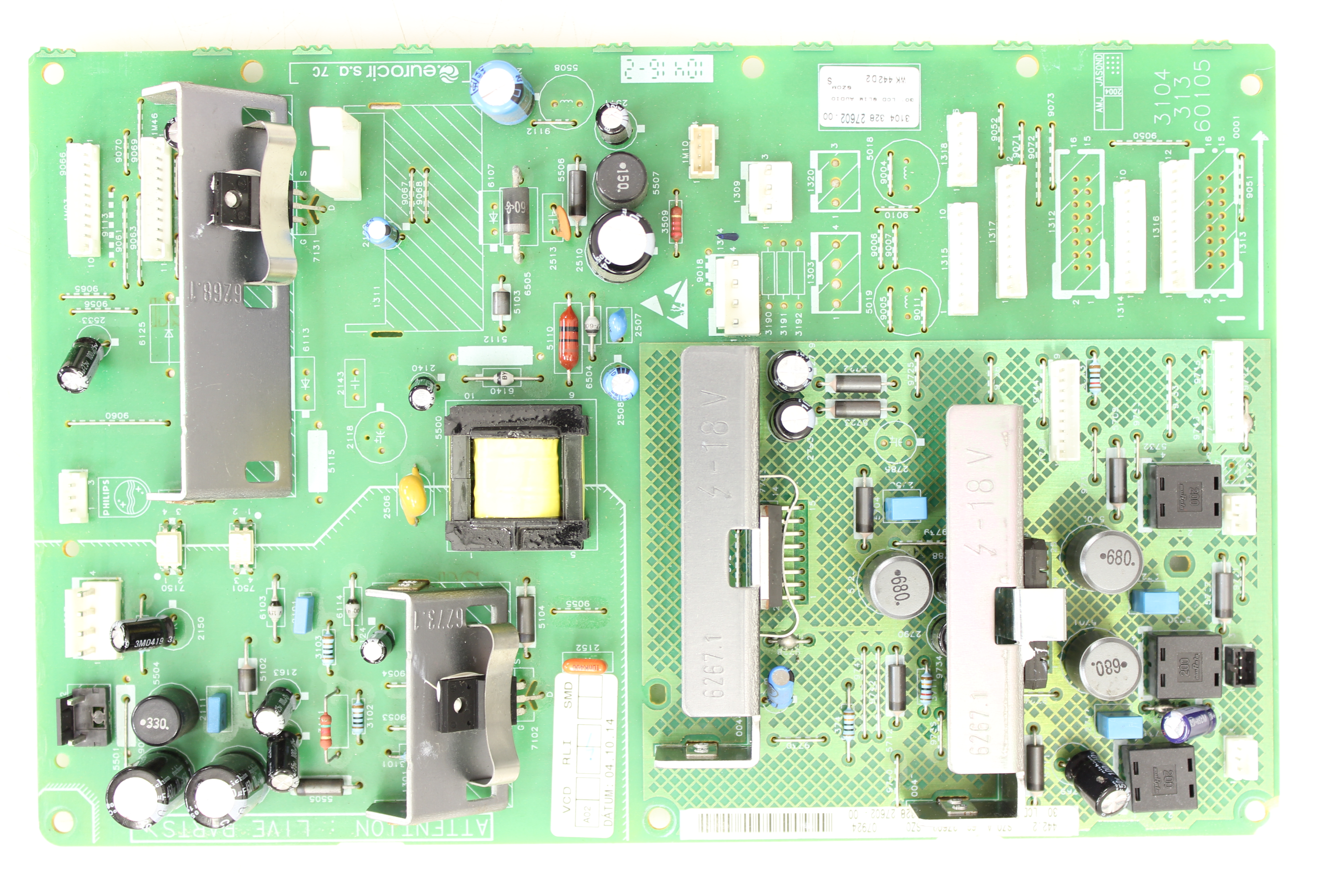 Philips 32pf9996 37 Circuit Board 310432827602 310431360105 How To Check A