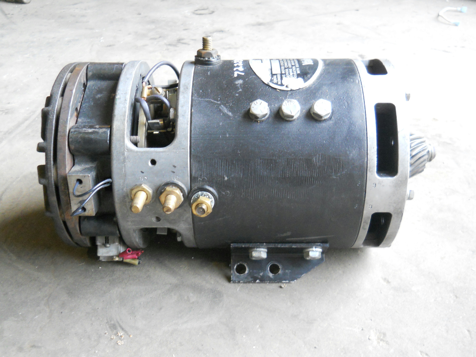 Yale Electric Forklift Traction Motor 73b 722238020 Ebay