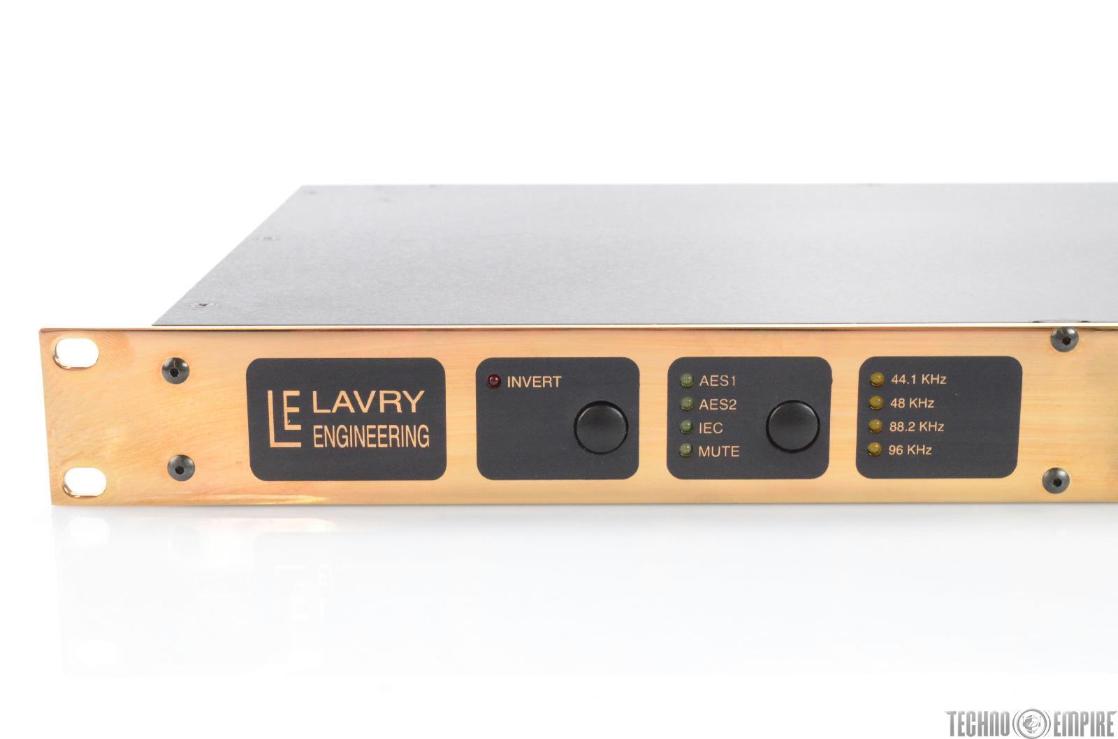 LAVRY ENGINEERING Gold DA924 High Resolution Digital to ...