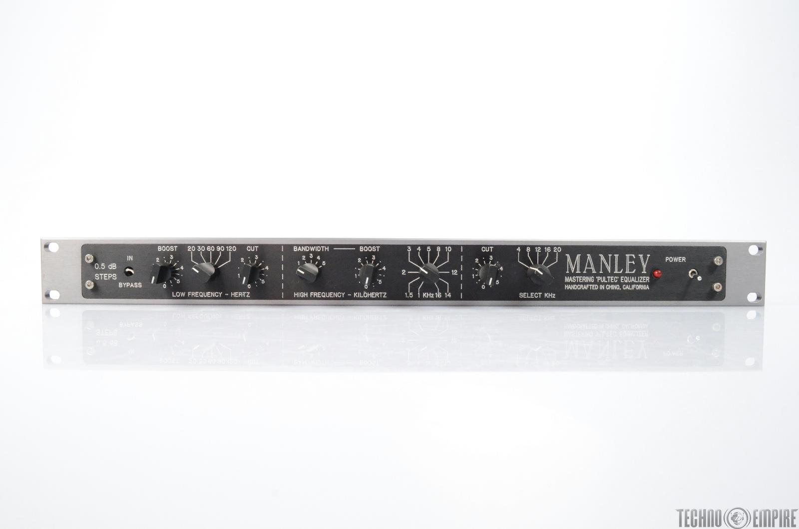 MANLEY Mastering Pultec Equalizer EQP-1A EQ #25706