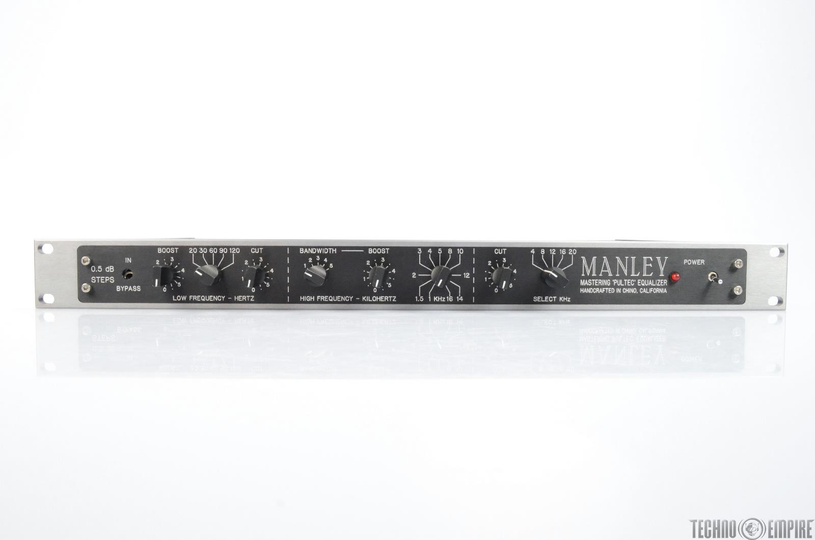 MANLEY Mastering Pultec Equalizer EQP-1A EQ #25705