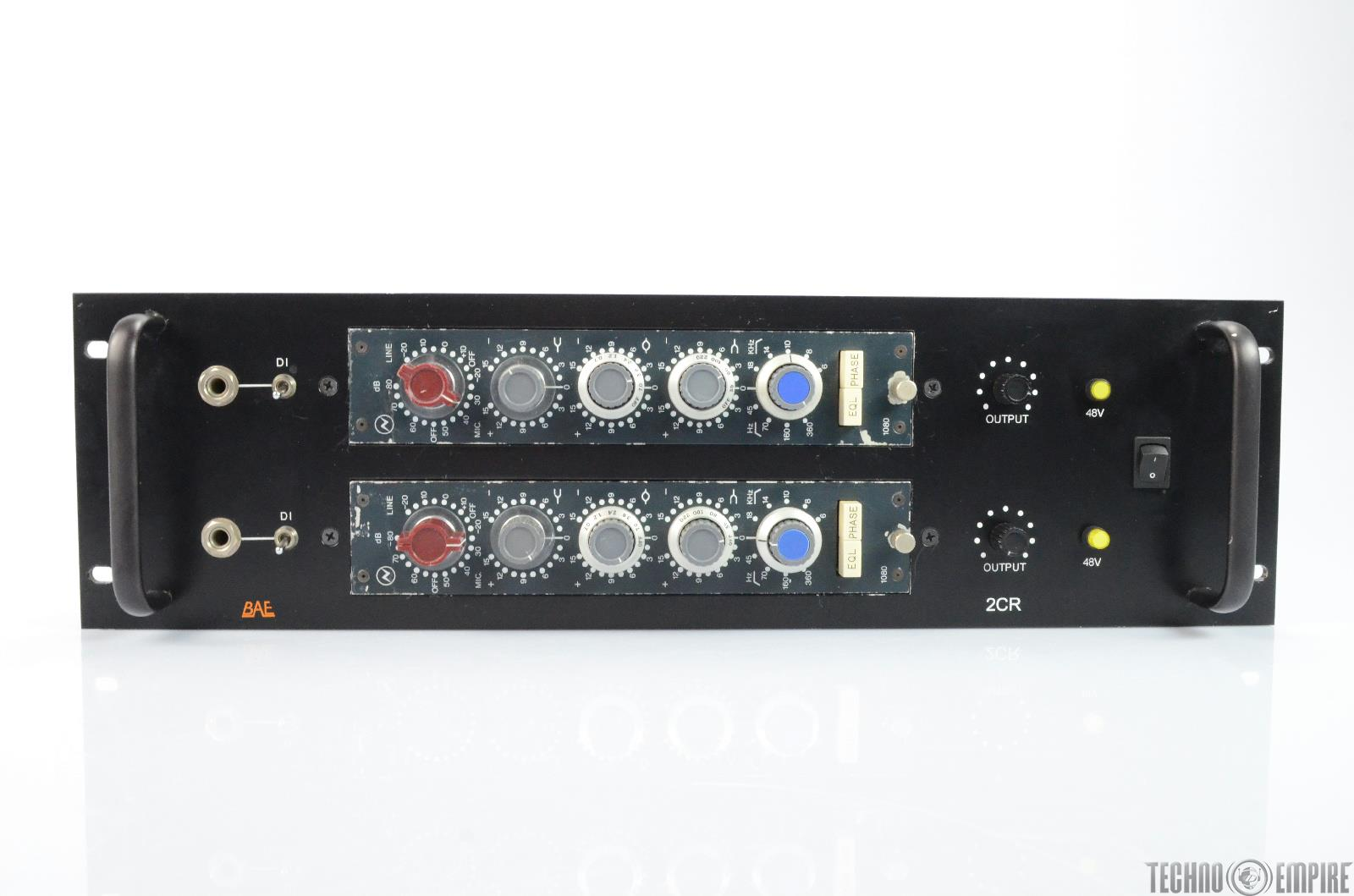 2 NEVE 1080 Microphone Mic Preamps Mastering Version BAE Rack 1073 1066 #25374