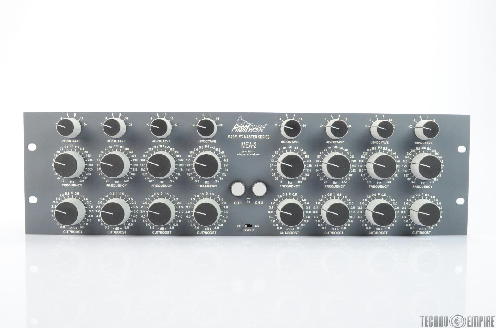 Prism Sound MEA-2 Maselec Master Series Precision Stereo Equalizer #25716