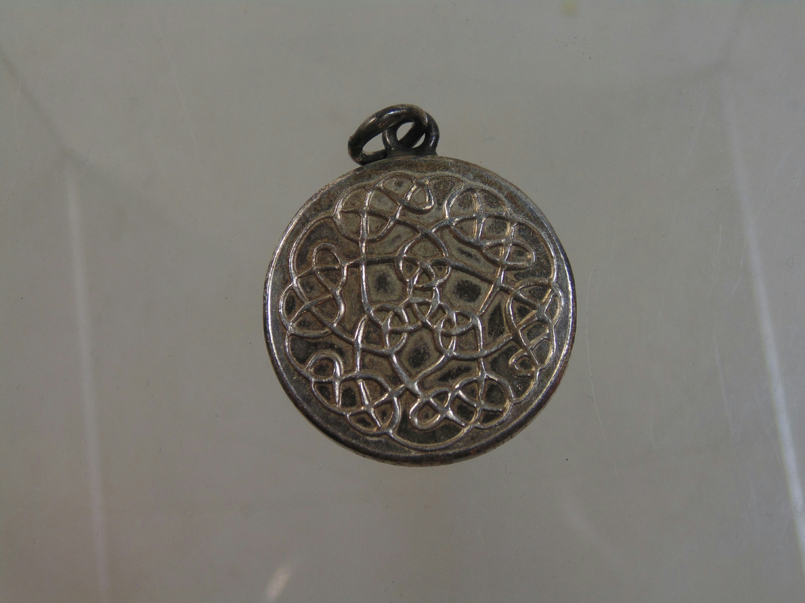 marked 999 silver jewelry heavy celtic knot style