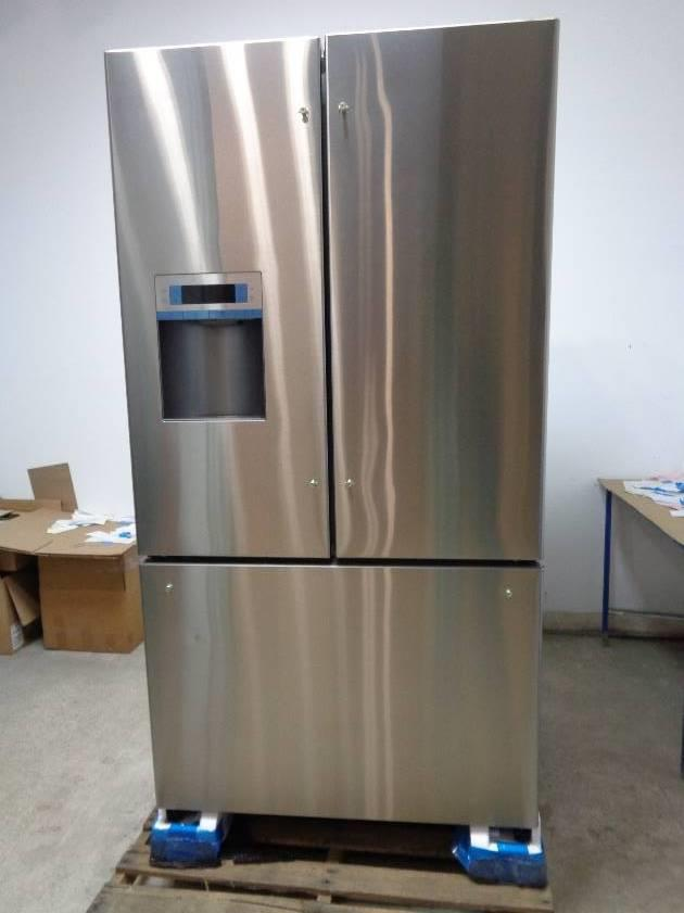 bosch 36 stainless steel french door refrigerator b26ft80sns detailed descrip ebay. Black Bedroom Furniture Sets. Home Design Ideas