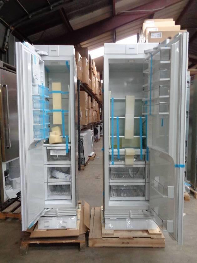 Sub Zero Ic18filh Ic24rrh 42 Quot Refrigerator Freezer Set