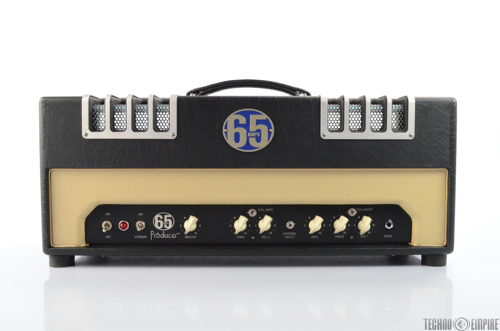 65 Amps Producer 6L Guitar Head Amp 28 Watt Amplifier #25799