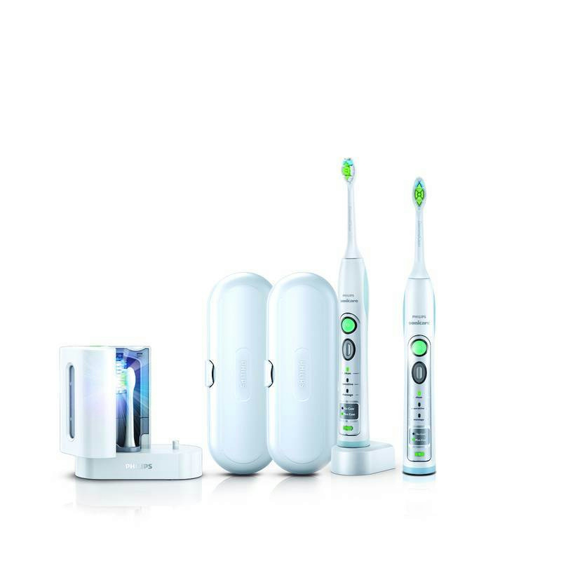 philips sonicare flexcare white rechargeable toothbrush. Black Bedroom Furniture Sets. Home Design Ideas