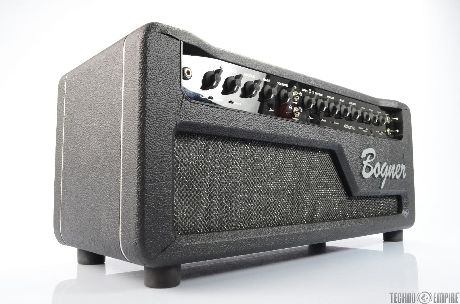 bogner alchemist 40 20 watt tube amplifier guitar head amp w road case 25800 ebay. Black Bedroom Furniture Sets. Home Design Ideas