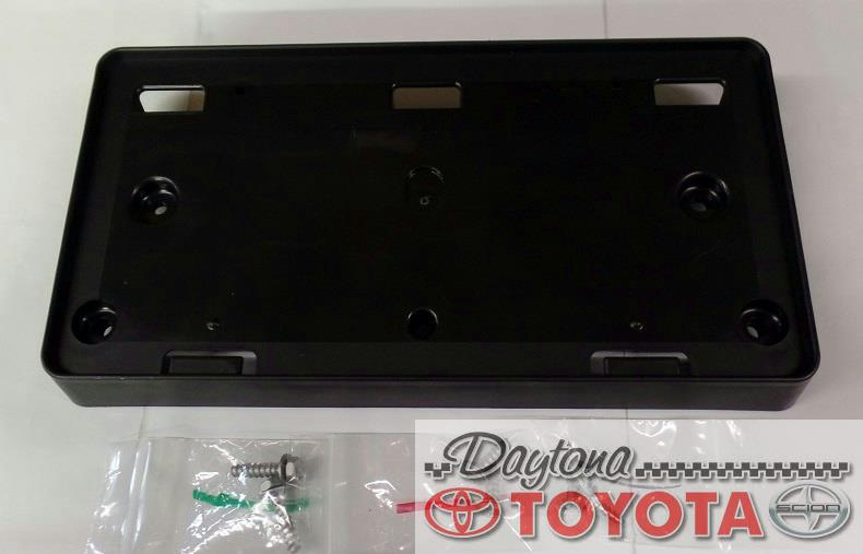 OEM TOYOTA SEQUOIA FRONT LICENSE PLATE HOLDER 52114-0C010 FITS 2008-2018 | eBay & OEM TOYOTA SEQUOIA FRONT LICENSE PLATE HOLDER 52114-0C010 FITS 2008 ...