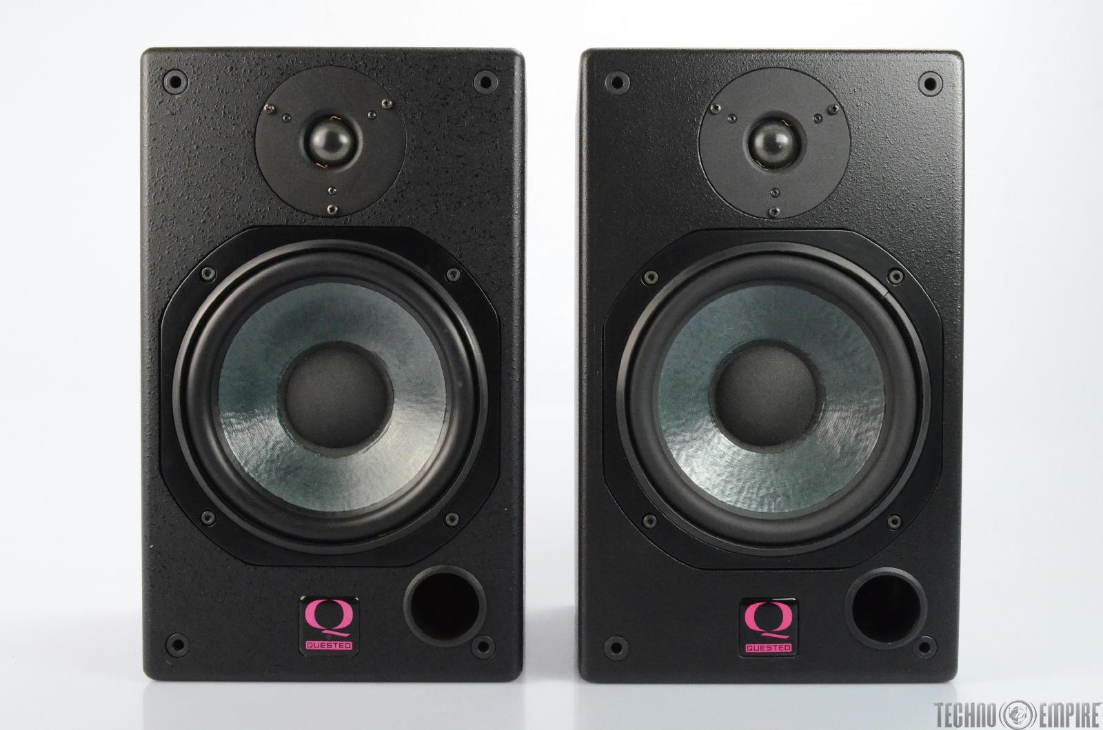 QUESTED H108 Passive Nearfield Reference Monitor Speakers PAIR #25849