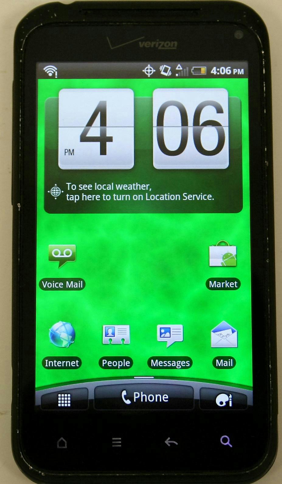 Verizon HTC Droid Incredible 2 ADR6350 Black Smartphone ...