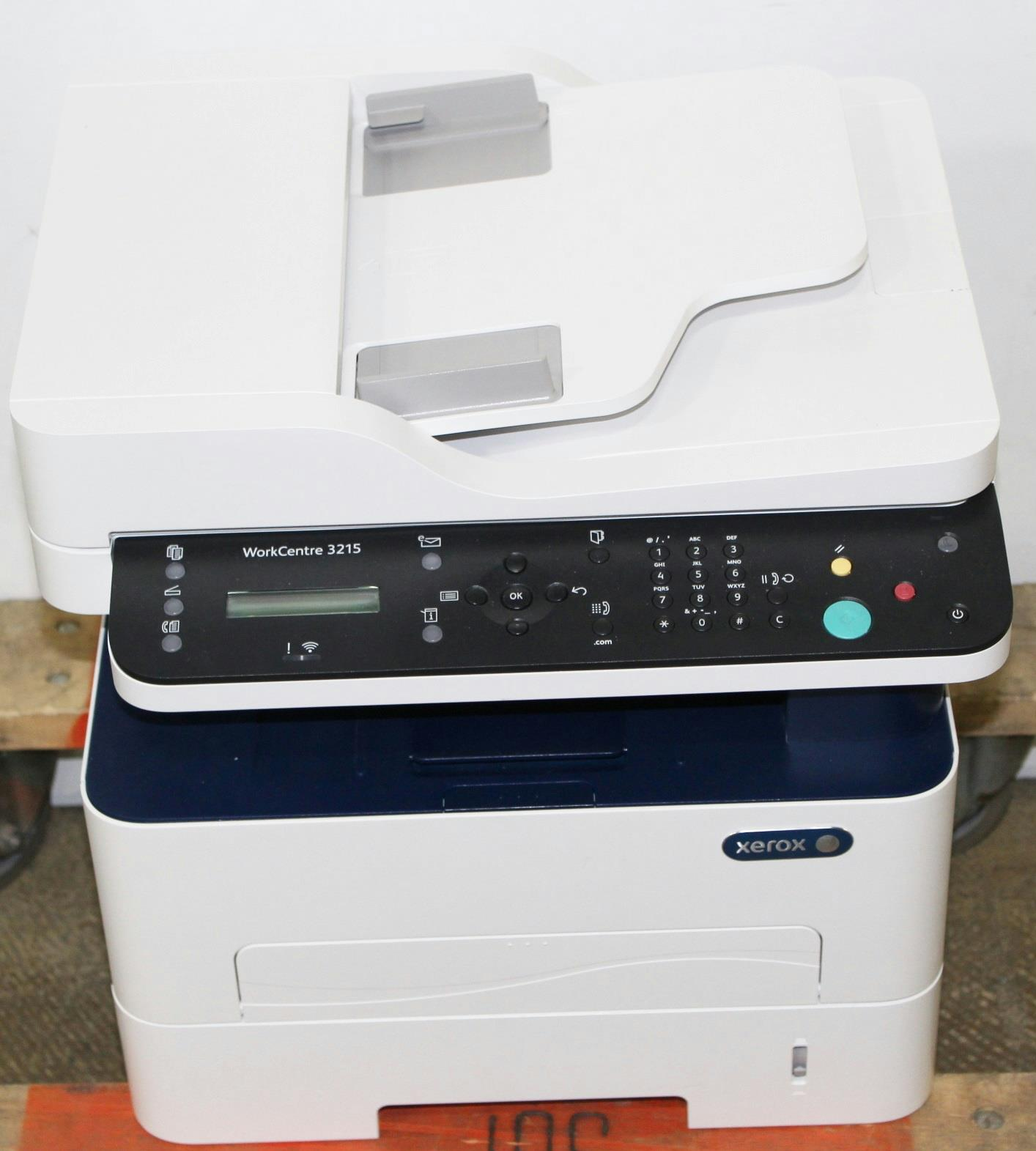 Details about Xerox WorkCentre Wireless b/w Multifunction Laser Printer,  3215/NI - 800144269