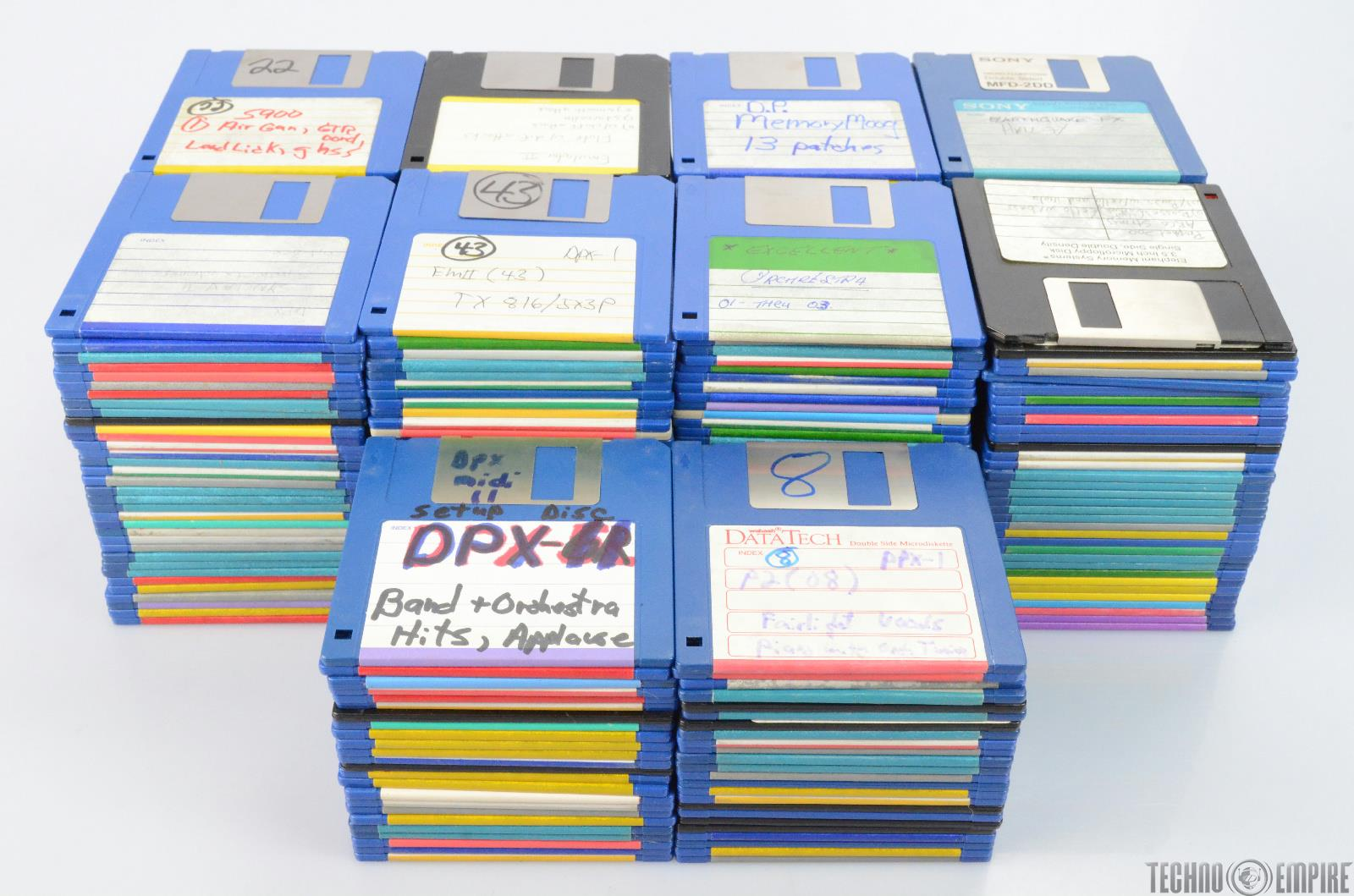 320 Custom Sample Library Floppy Discs for Oberheim DPX-1 #25897