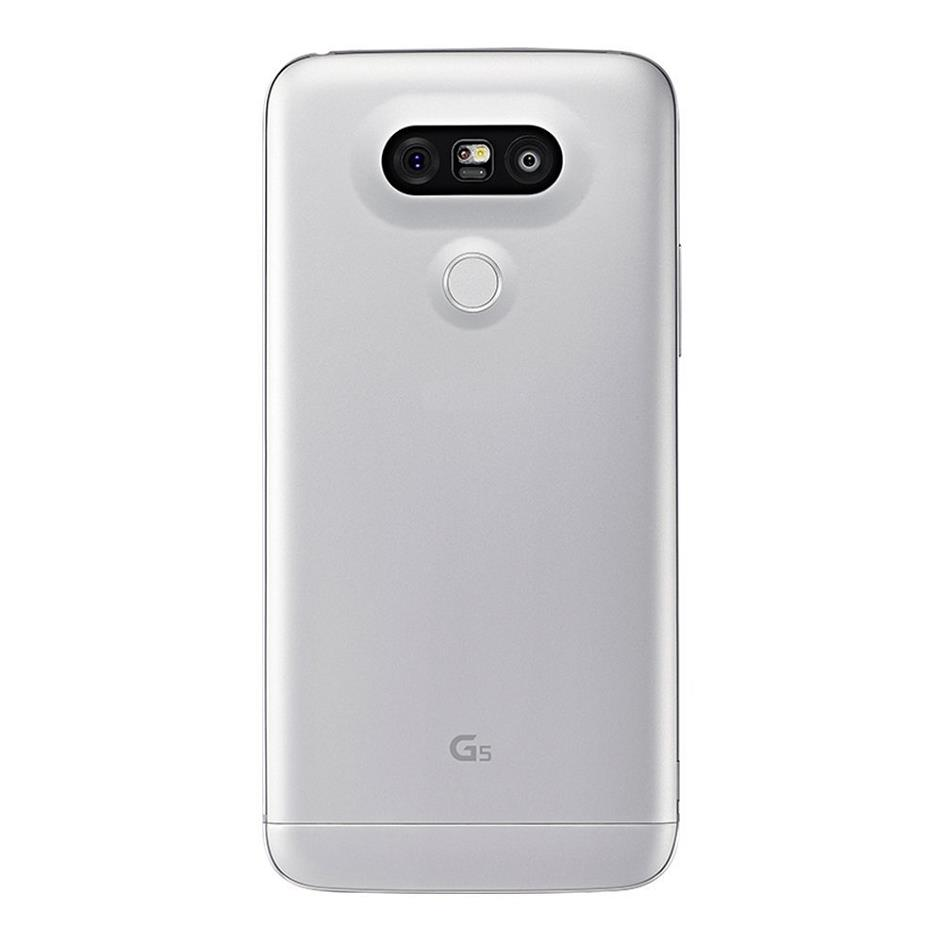 LG G5 (Latest Model) Silver 16MP Camera Android Smartphone ...