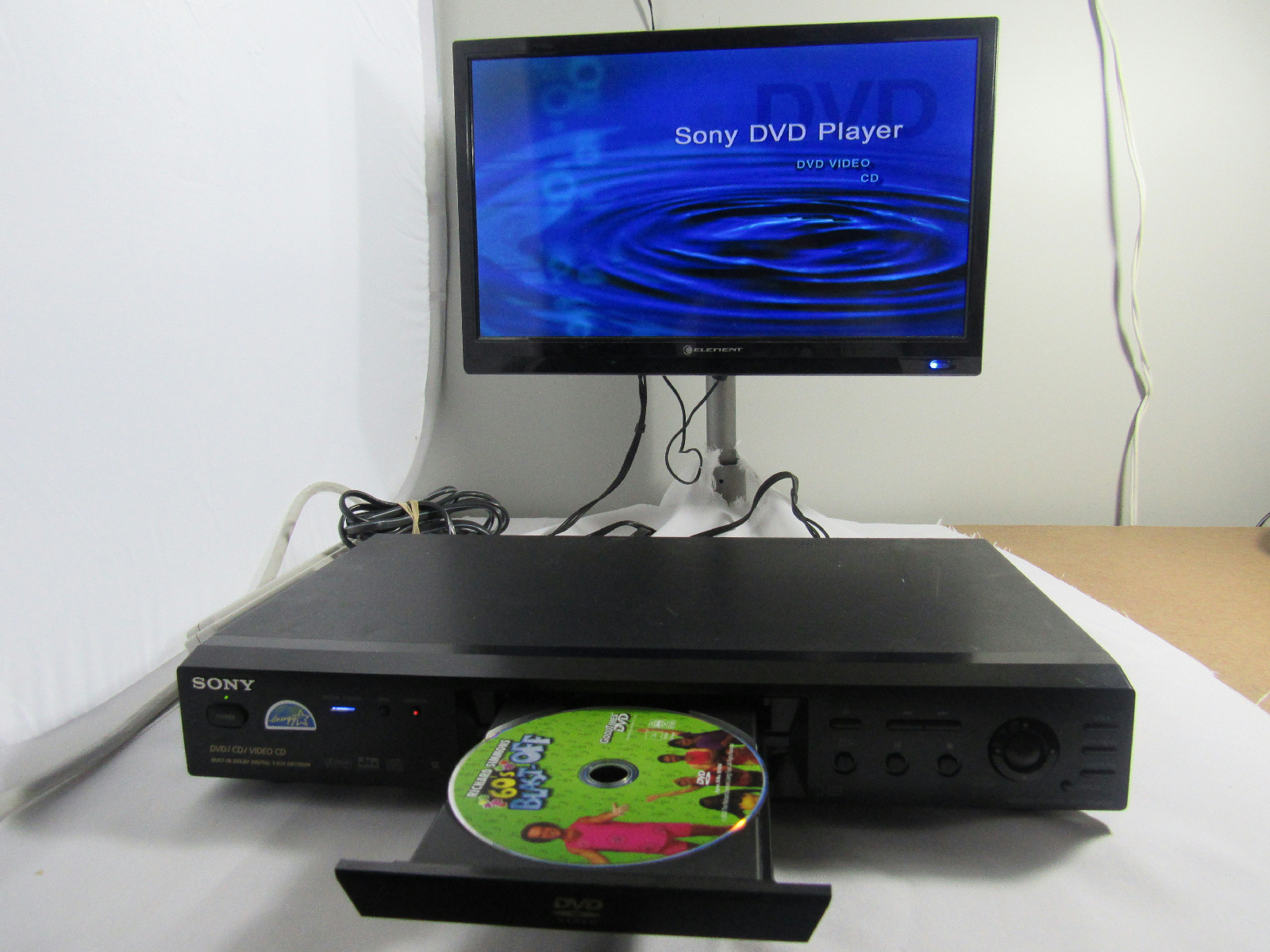 sony cd dvd player model dvp ns400d tested ebay. Black Bedroom Furniture Sets. Home Design Ideas