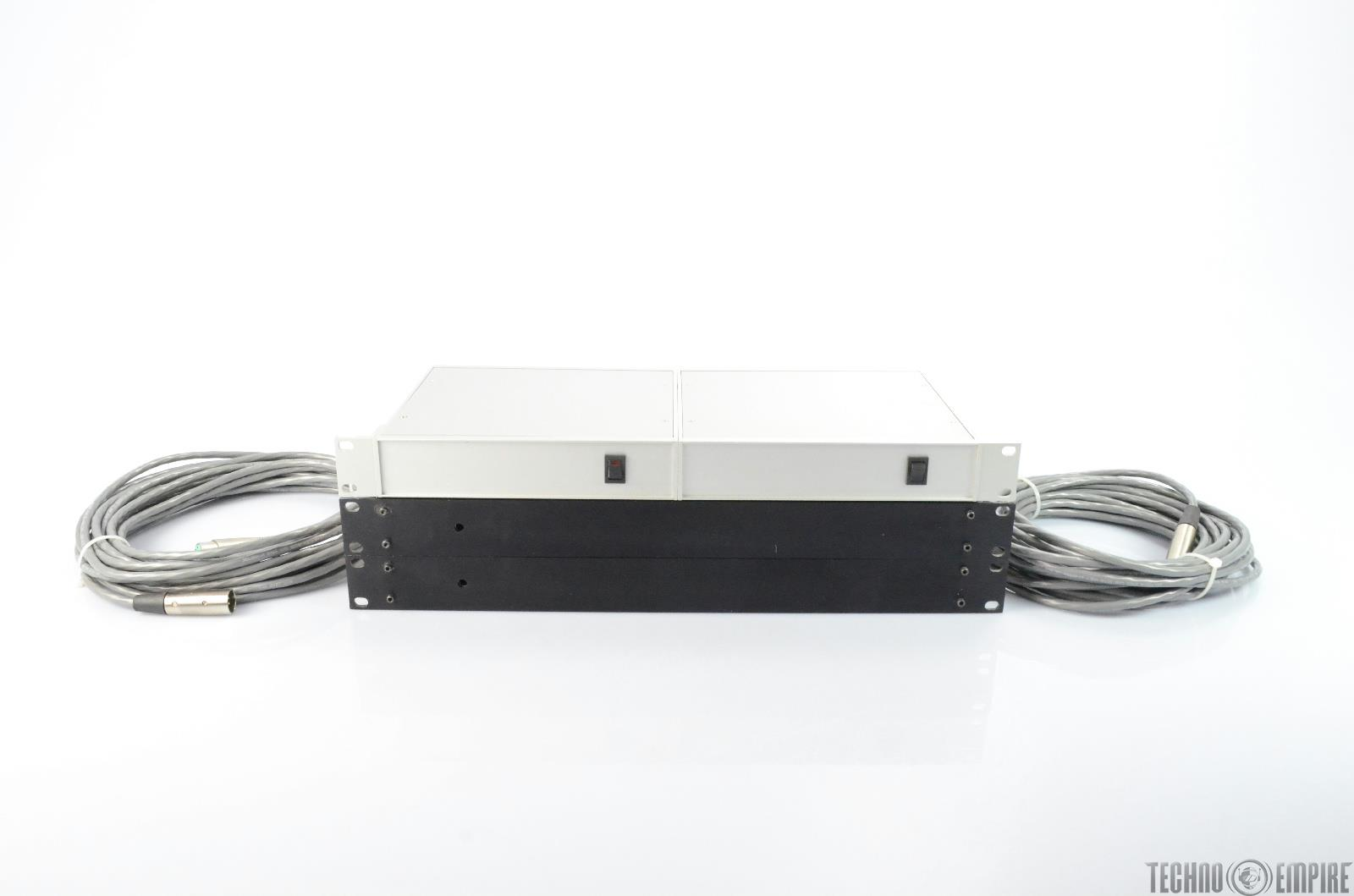 The Mastering Lab Custom Mic to Line Level Tube Amplifiers Amps (Pair) #25932