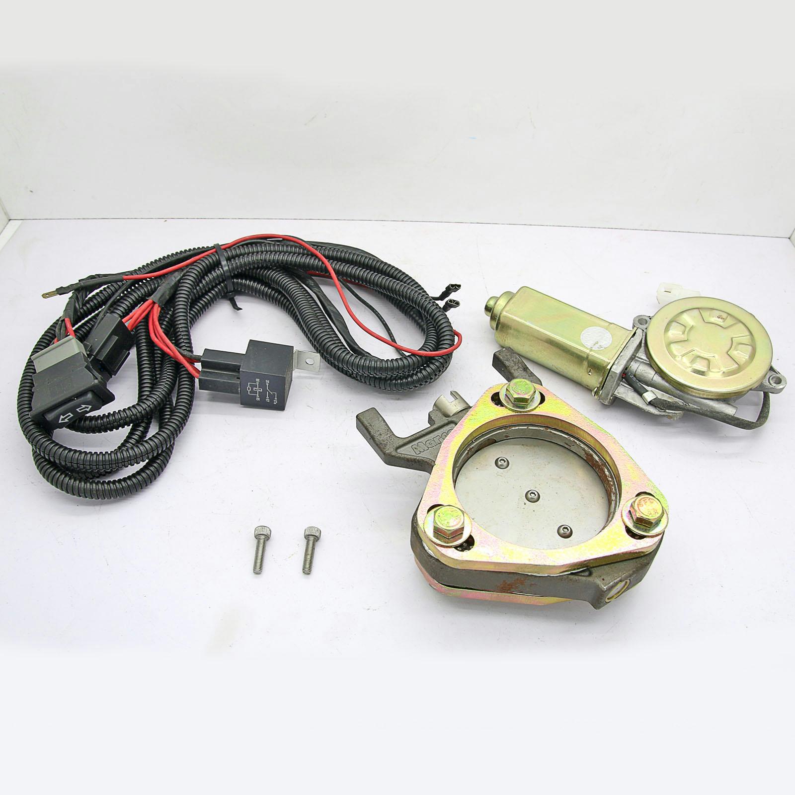 3 Universal Fit Electronic Exhaust Remote Control Valve Motor Cutout Kit Vu 030 Ebay