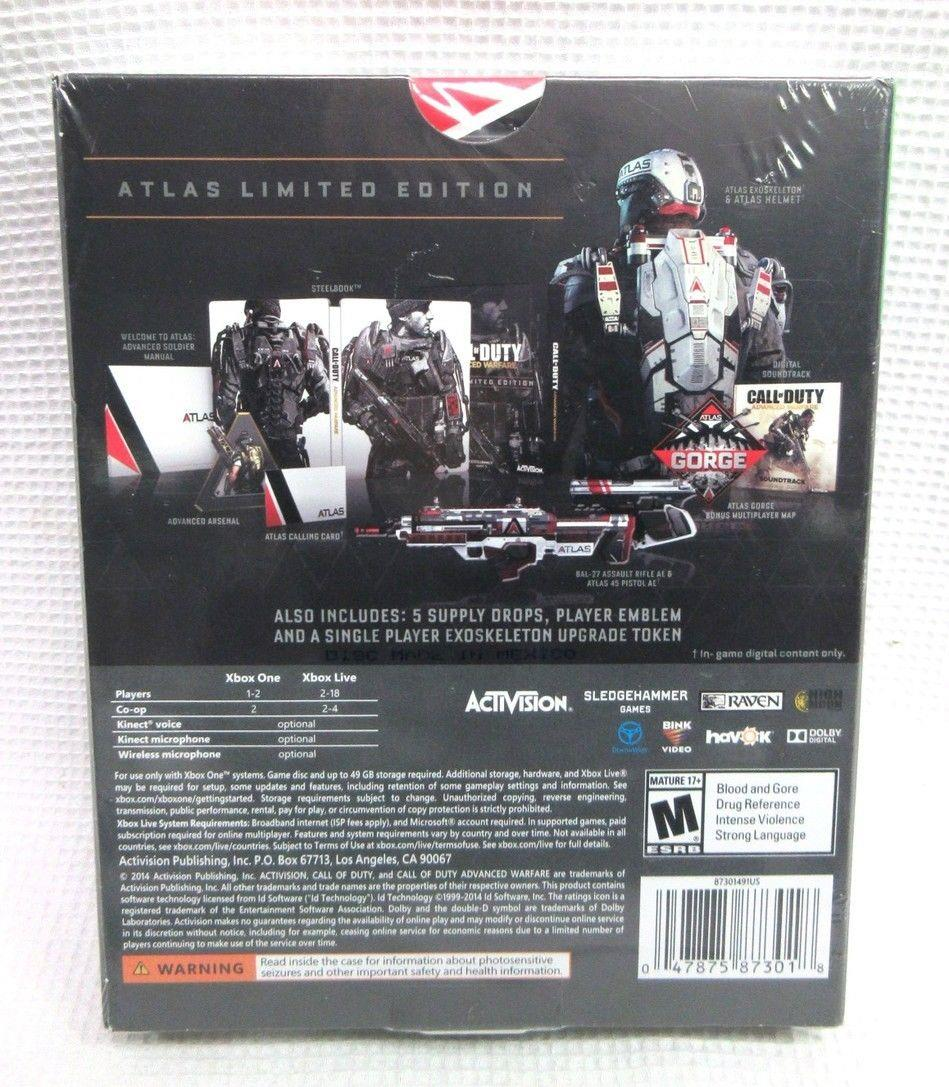 NEW Call Of Duty Advanced Warfare Atlas Limited Edition