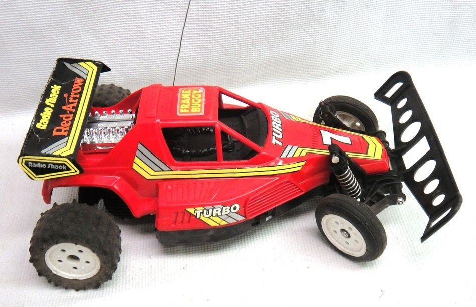 Radio Shack Toys For Boys : Radio shack red arrow frame buggy r c remote control car