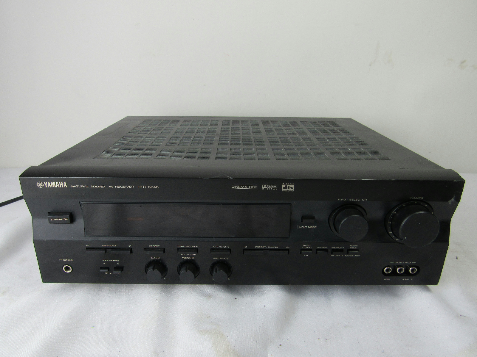 Yamaha home theatre receiver model htr 5240 ebay for Yamaha home theater amplifier