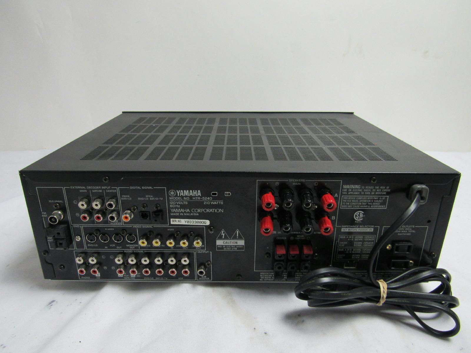 Used Yamaha Htr On Ebay