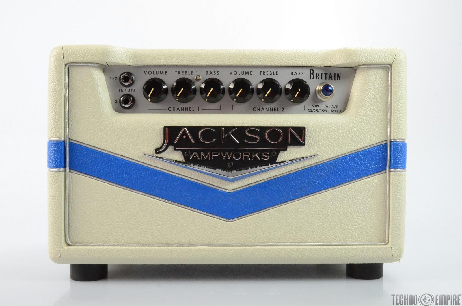 JACKSON AMPWORKS Britain 4.0 Guitar Amplifier Head #26004