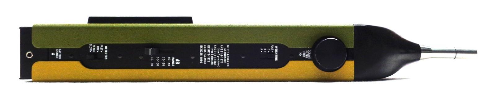 Audio Hz Meter : Genrad precision sound level meter analyzer hz